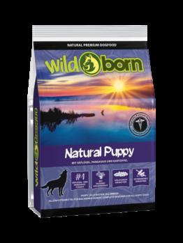 Wildborn Natural Puppy 500g, Trockenfutter, getreidefrei, Hundefutter, Welpenfutter für Welpen und Junghunde aller Rassen (7,98 EUR pro kg)